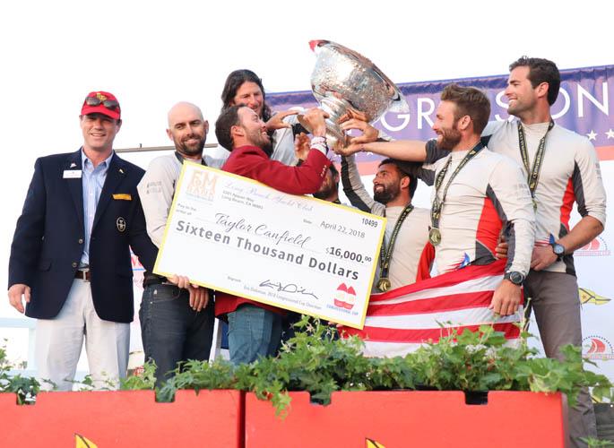 Congressional Cup--3 Credit Bronny Daniels